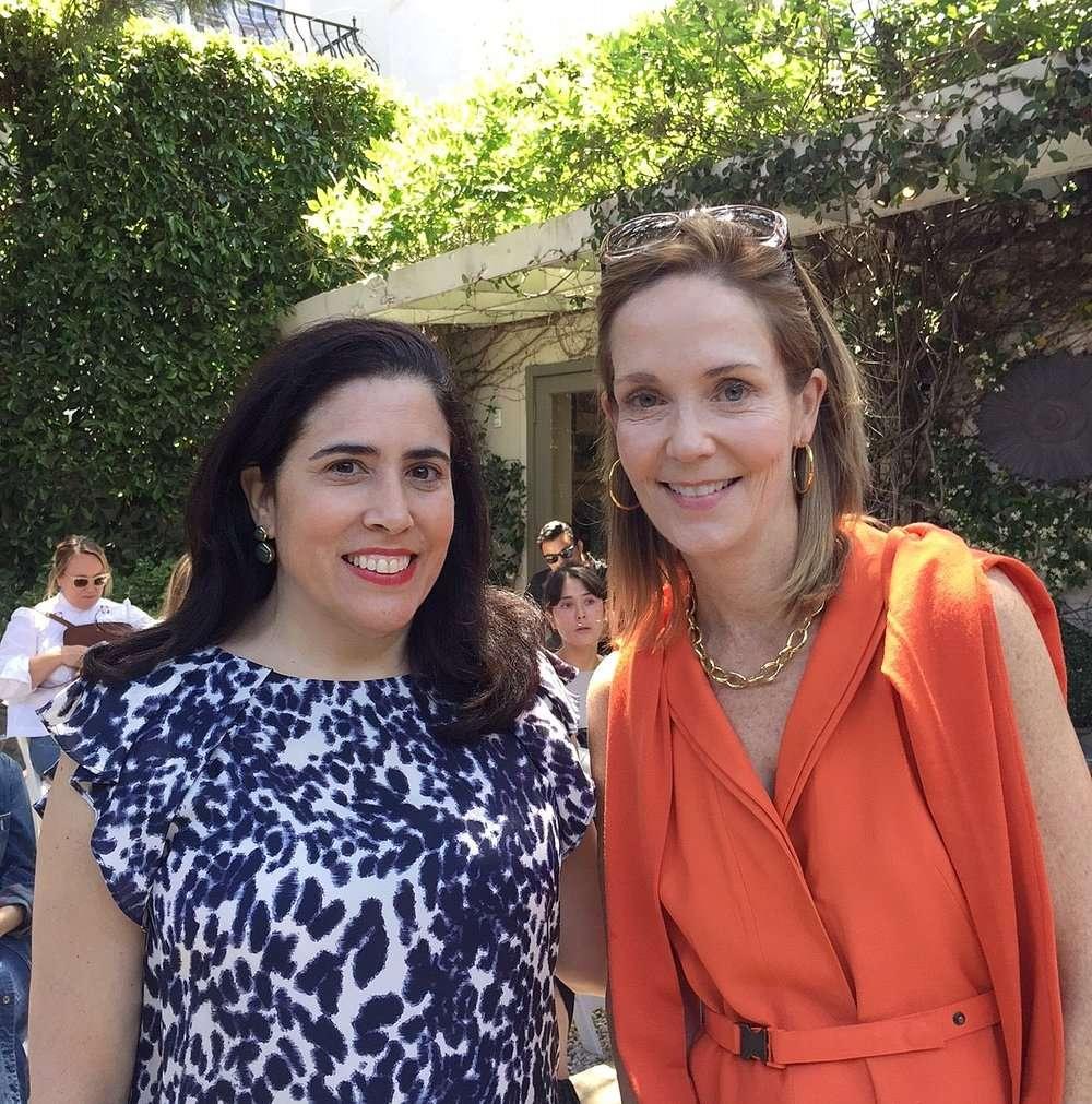 With Marisa Marcantonio of Stylebeat blog